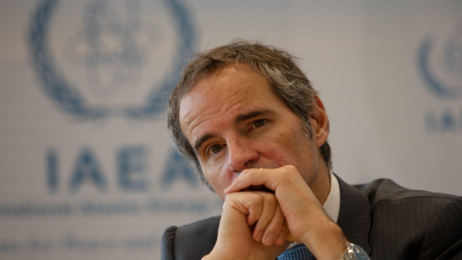 المدير العام لوكالة الطاقة الذرية، رافائيل غروسي