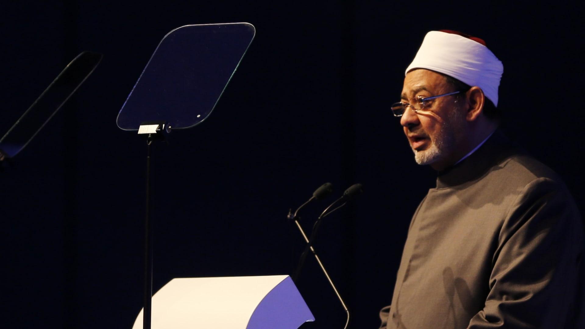 """شيخ الأزهر يتحدث عن إخفاق تيار """"الانغلاق"""" في تجديد الدين ويحدد المسؤول عن المهمة"""