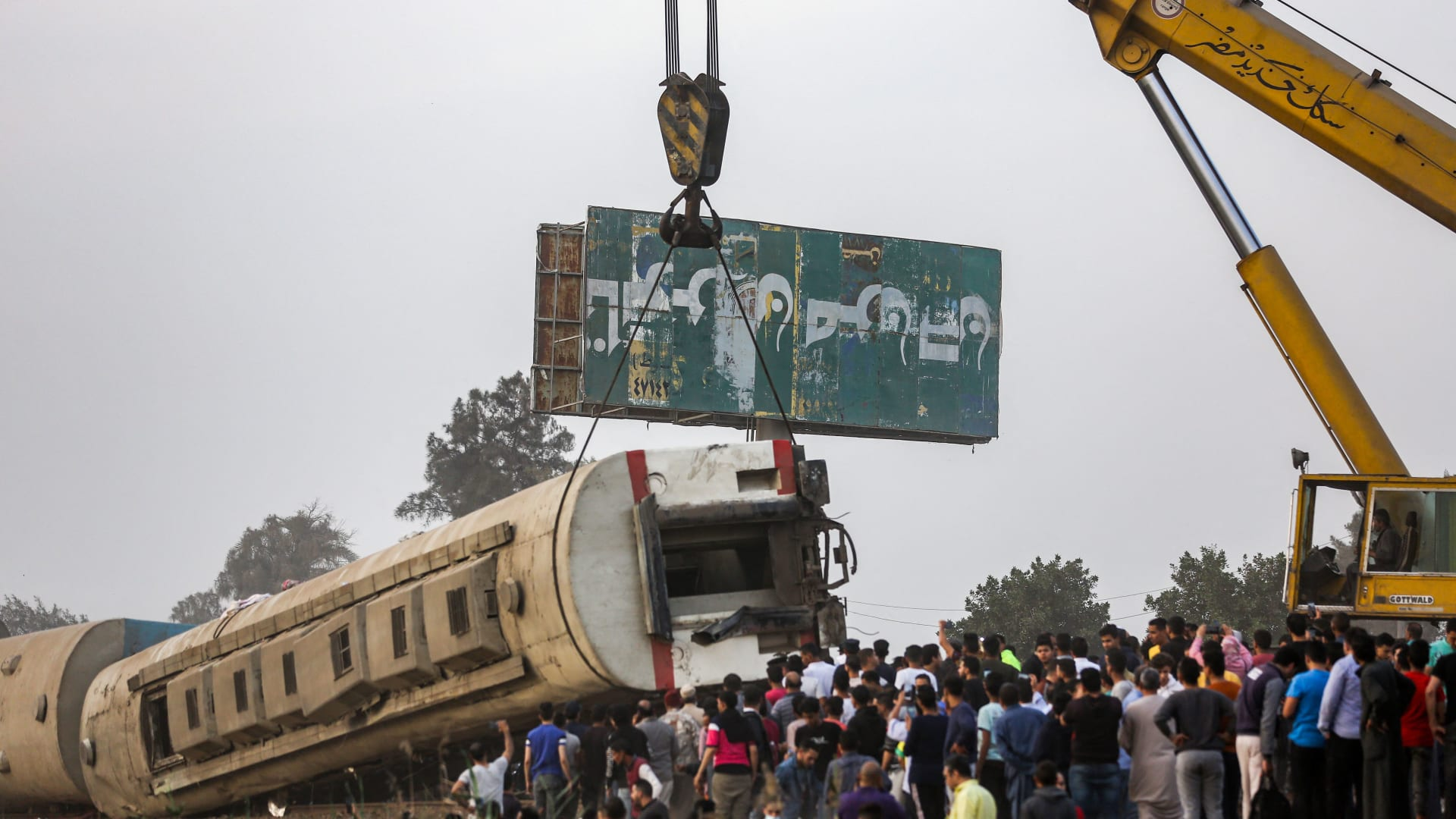 الصحة المصرية: مصرع 11 وإصابة 98 آخرين في حادث قطار طوخ