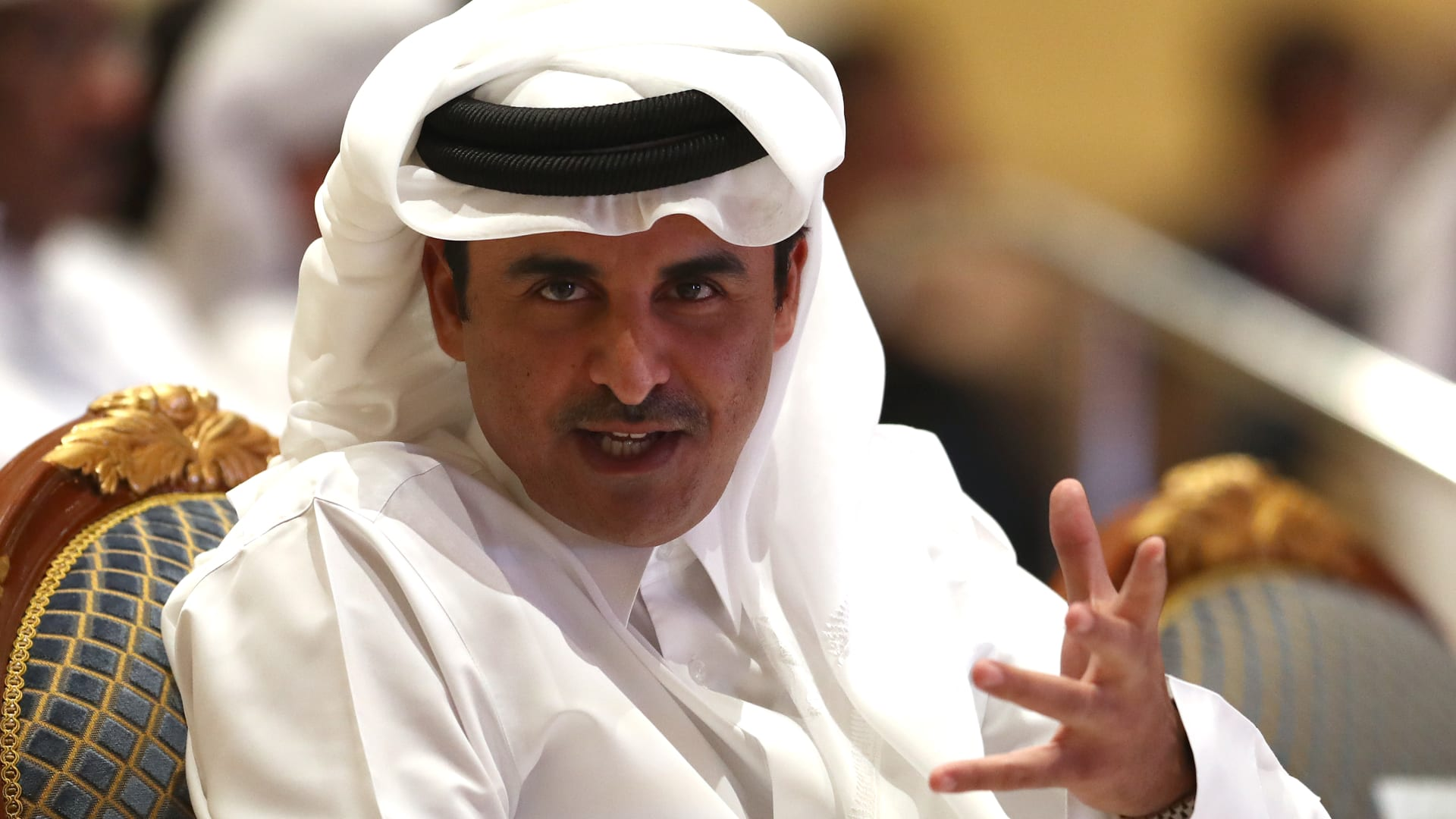 صورة أرشيفية لأمير قطر الشيخ تميم بن حمد