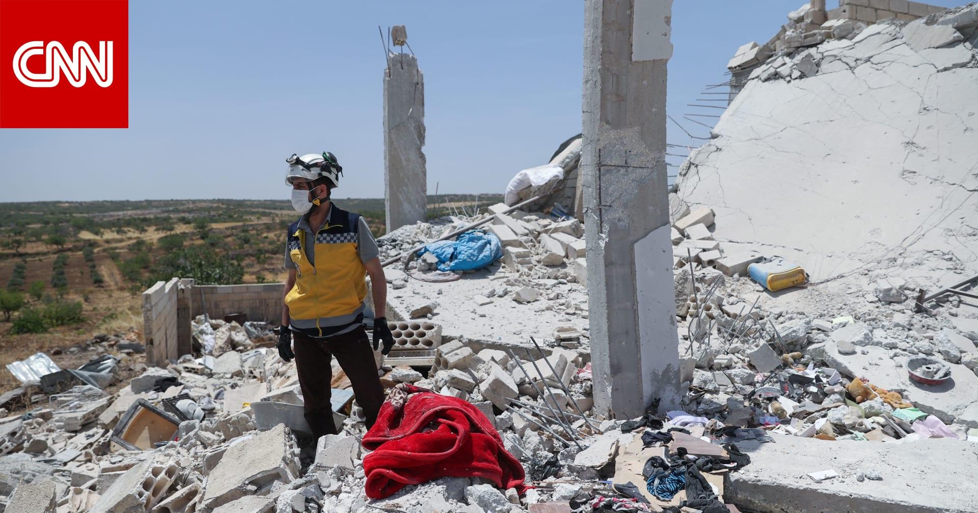مقتل 8 مدنيين بينهم 6 أطفال في قصف للنظام السوري