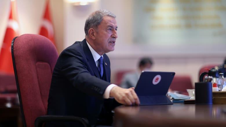 """تركيا تعلن أنها ردت على """"تحرش"""" أربع مقاتلات يونانية بسفينتها في بحر إيجة"""