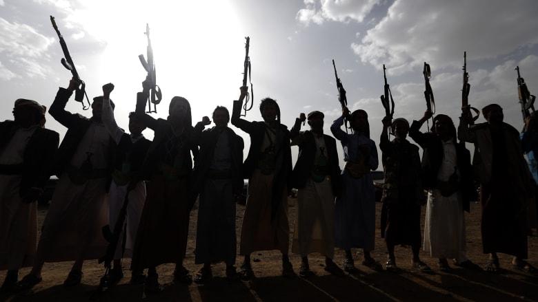 صورة أرشيفية لعناصر موالية لجماعة الحوثي في اليمن