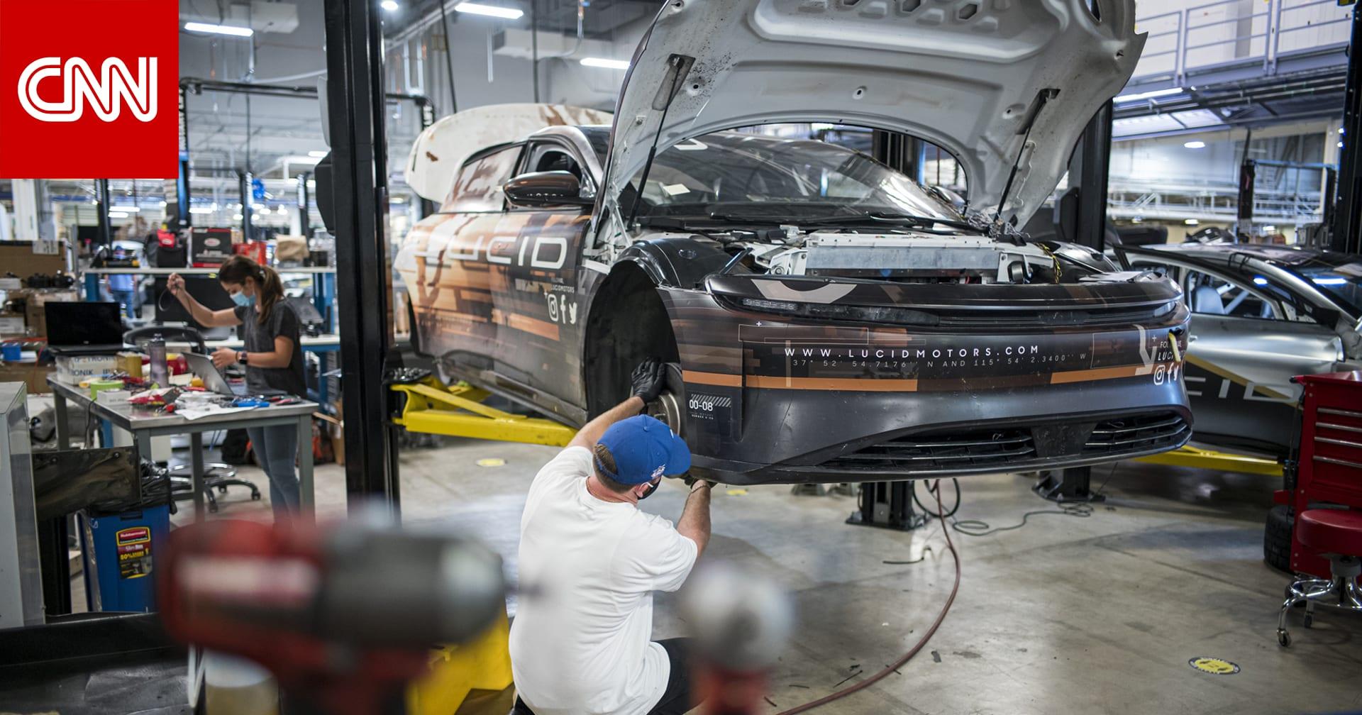 """ستنافس """"تسلا"""".. """"لوسيد"""" للسيارات الكهربائية تندمج مع CCIV وتجمع أكثر من 4 مليار دولار"""