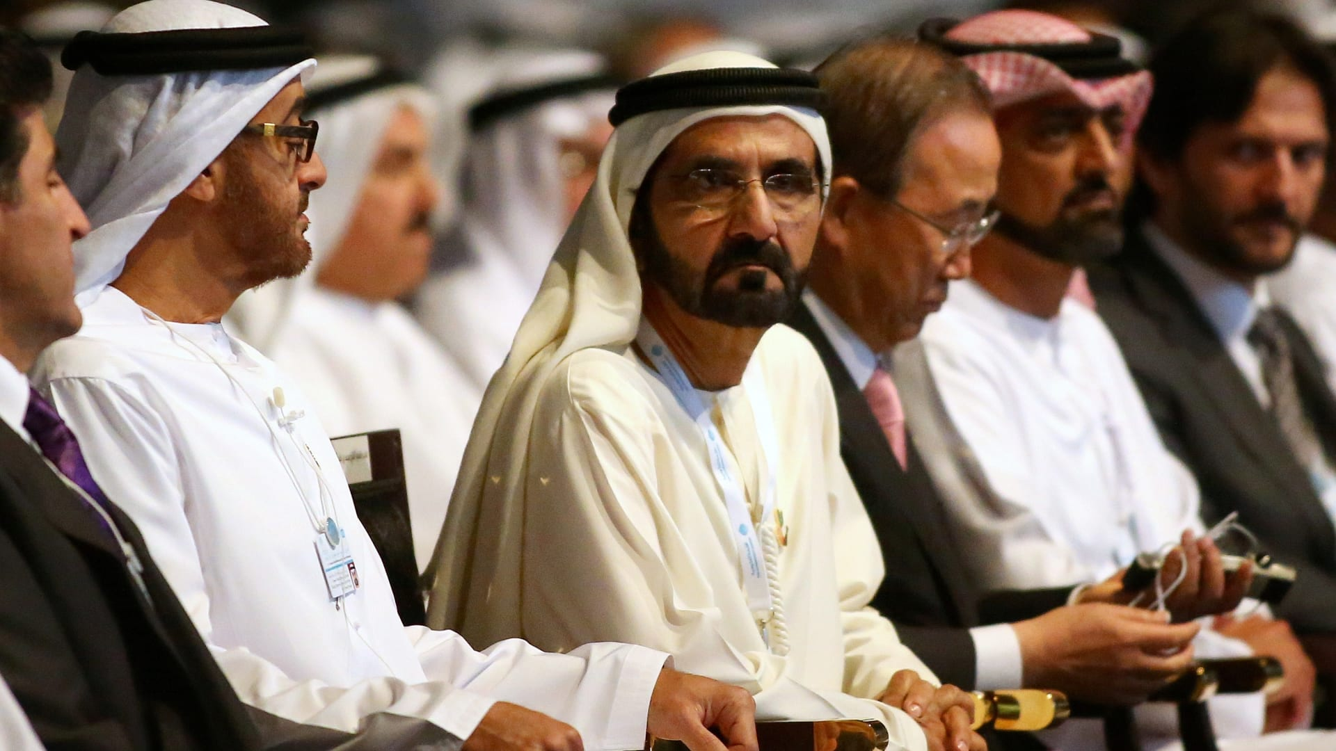 محمد بن راشد: أول ميغاوات من المحطة النووية يدخل شبكة الكهرباء في الإمارات