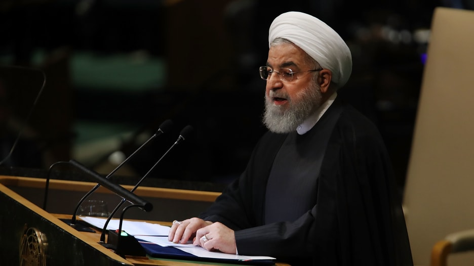 روحاني: زيادة تخصيب إيران لليورانيوم هي نتيجة مباشرة لحادثة نطنز