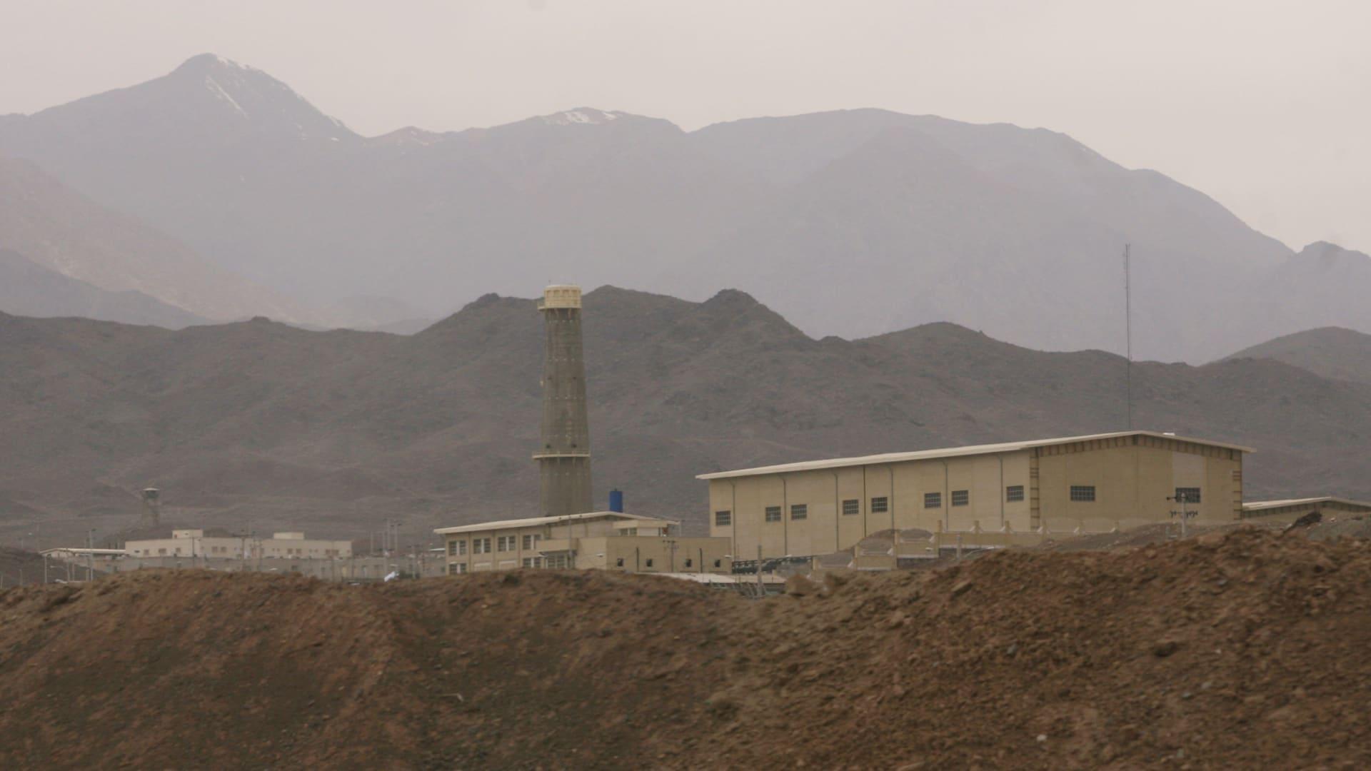 صورة أرشيفية لمفاعل نطنز العام 2007