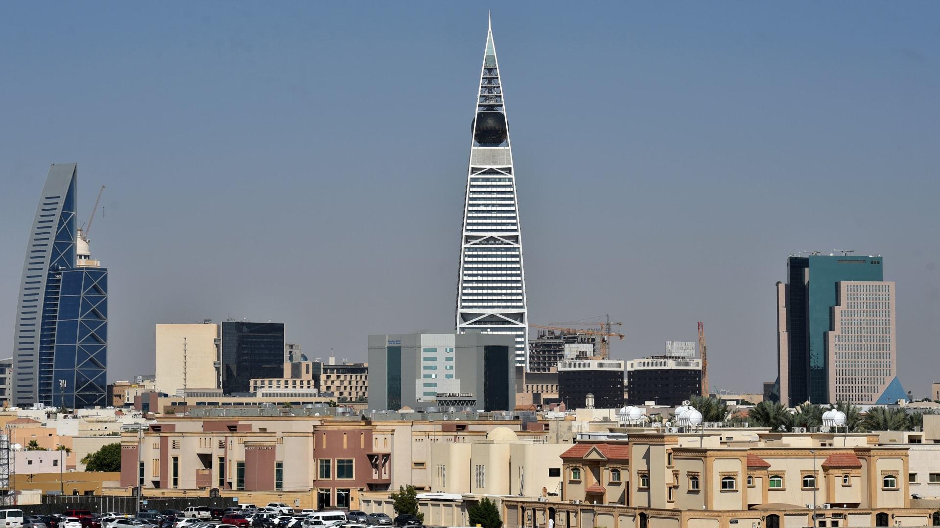 صورة ارشيفية من العاصمة السعودية الرياض