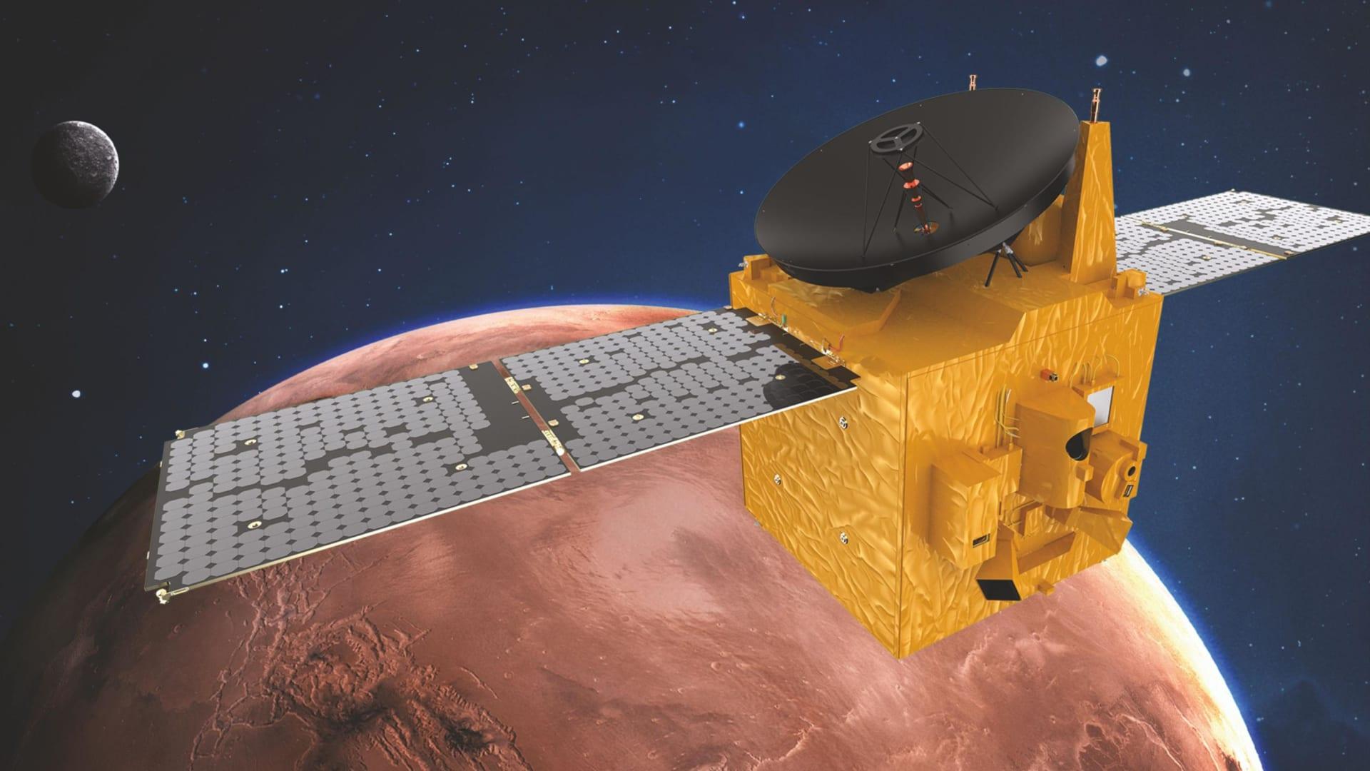 """رحلة """"مسبار الأمل"""" الإماراتي.. أول بعثة تصل إلى المريخ هذا الشهر"""