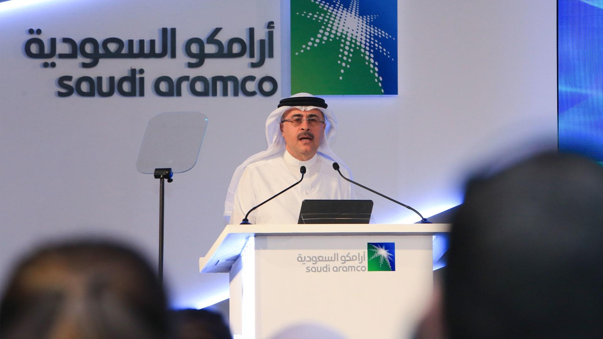 رئيس أرامكو السعودية: توزيع اللقاحات يدفعني للتفاؤل بشأن أوضاع السوق