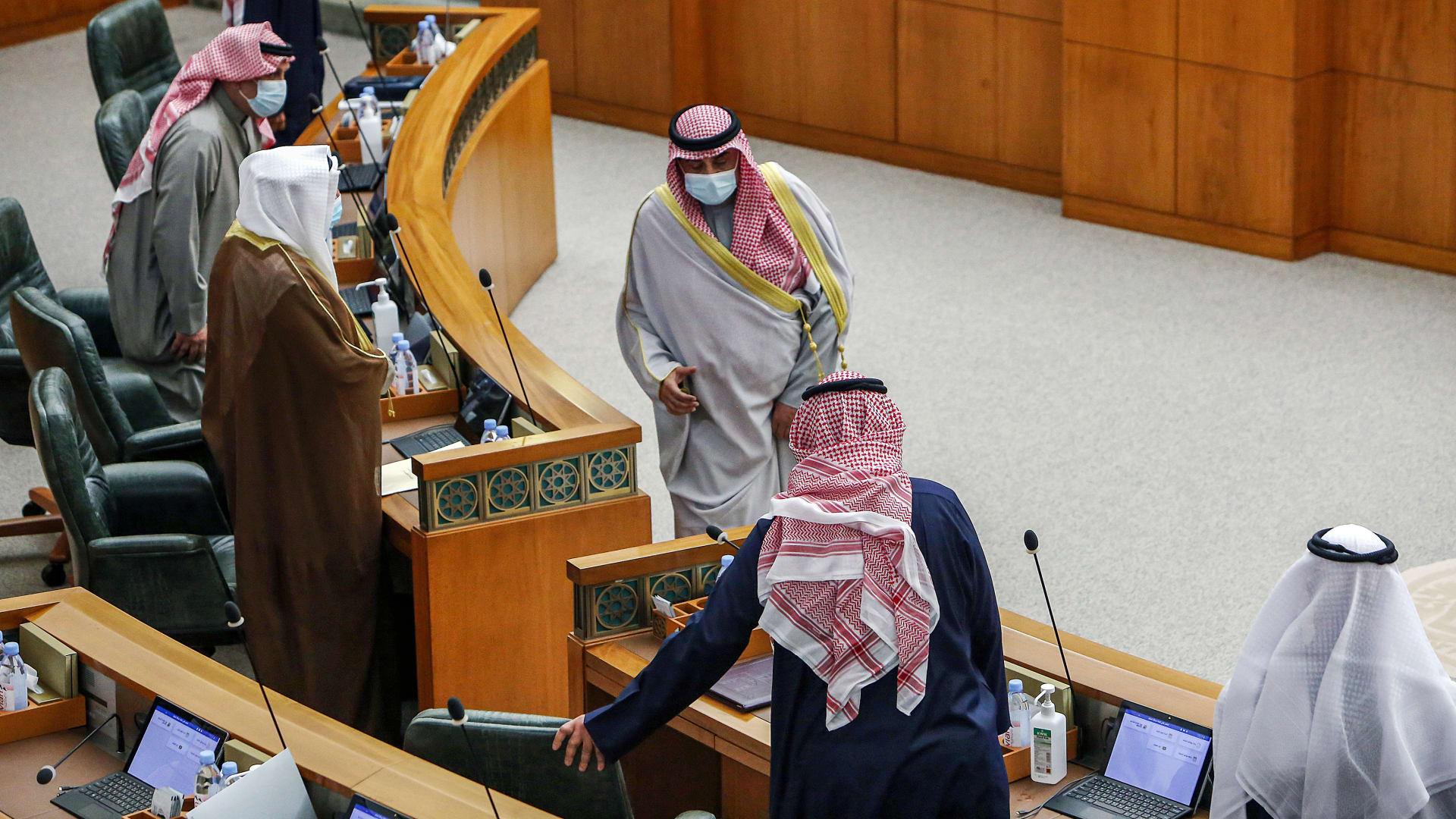 تعليق جلسات برلمان الكويت
