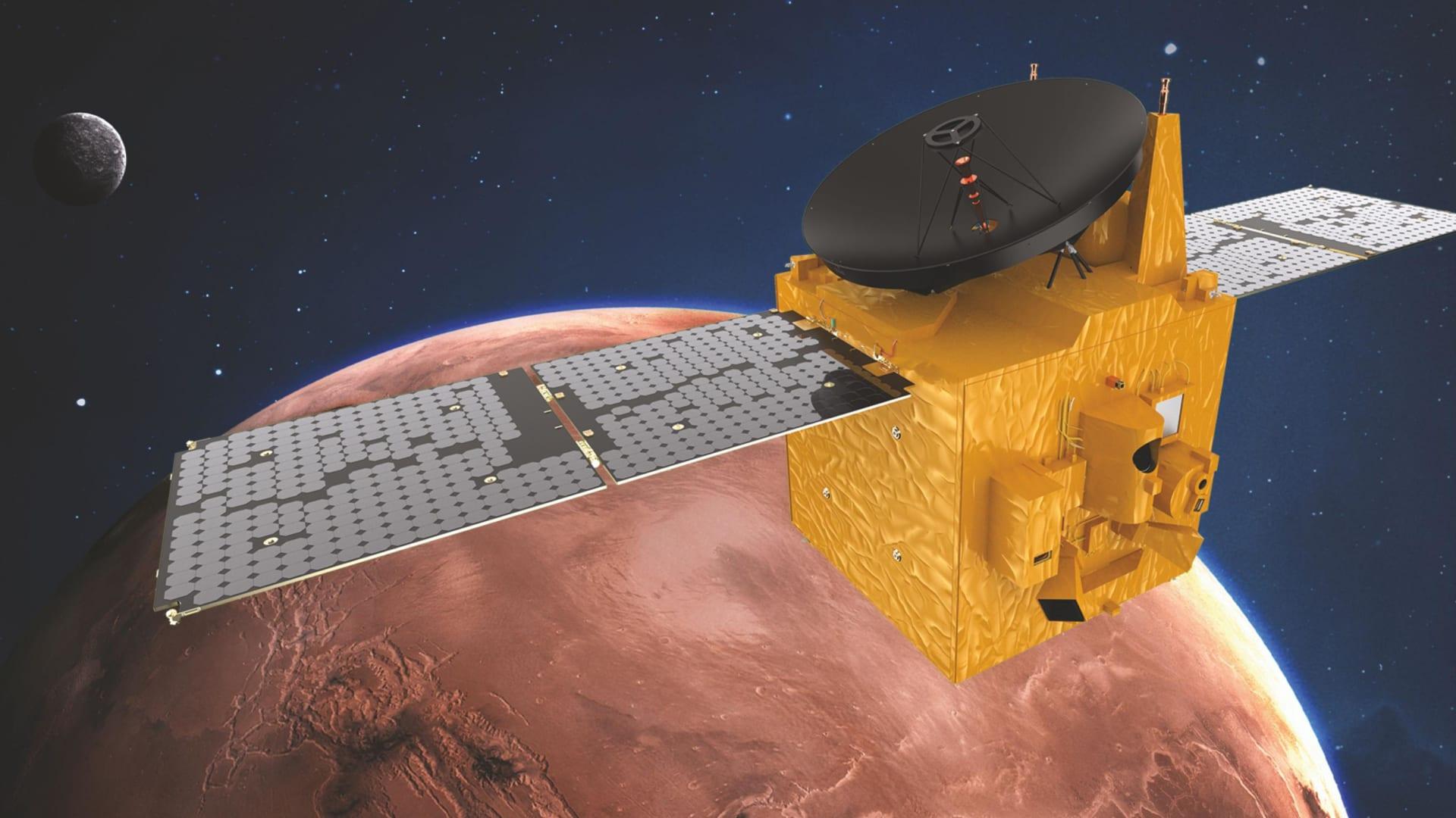 """""""مسبار الأمل"""" الإماراتي يصل إلى المريخ اليوم.. كيف يمكن مشاهدته؟"""