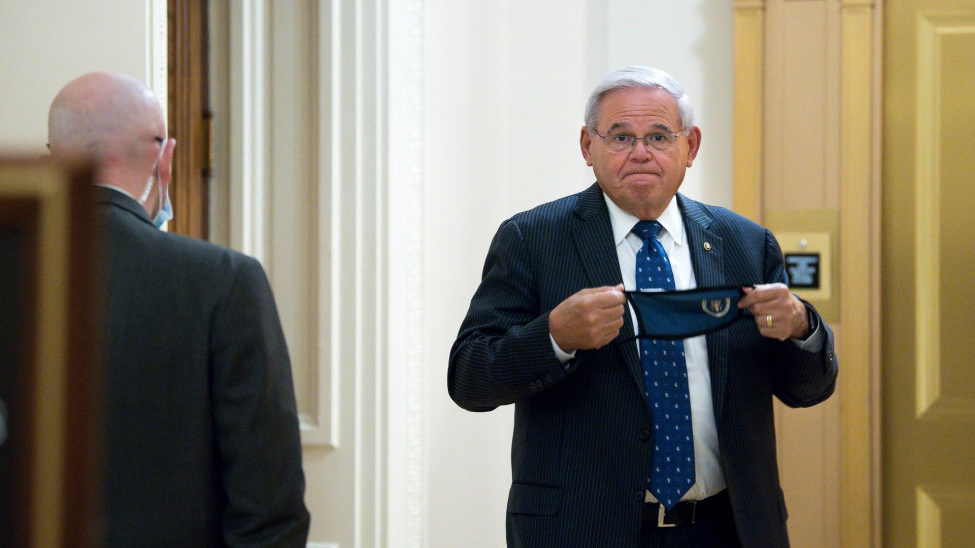 السيناتور الأمريكي روبرت مينينديز