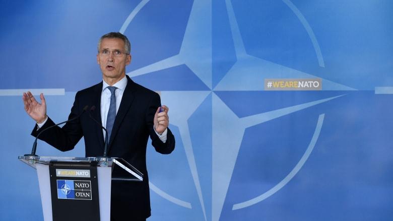 الأمين العام لحلف الناتو لـCNN: يقلقنا المزيج بين قدرة إيران على تطوير سلاح نووي ونقله