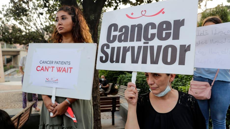 """""""أريد أن أعيش""""..مريضة سرطان في لبنان تكشف لـCNN عن """"الوجع"""" في بلد """"لا أدوية"""" فيه"""