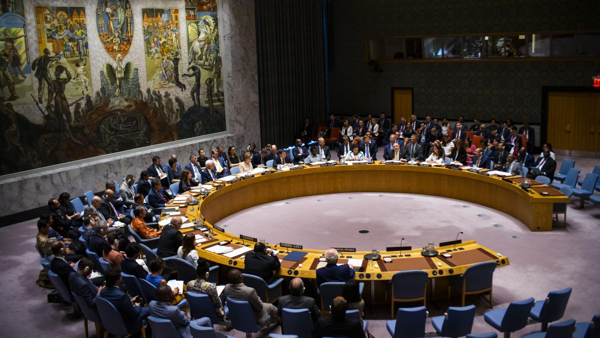 مجلس الأمن الدولي - صورة أرشيفية