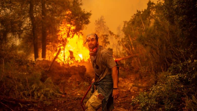ذكريات طفولتنا اختفت ولم يبق شيء.. اليونانيون يصفون الدمار الذي خلفته الحرائق
