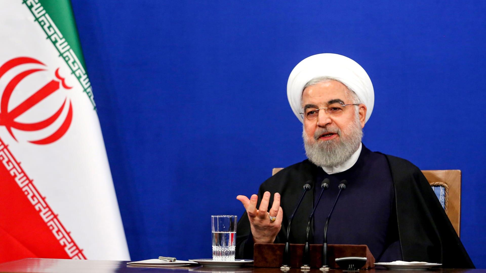 الرئيس الإيراني حسن روحاني - صورة ارشيفية