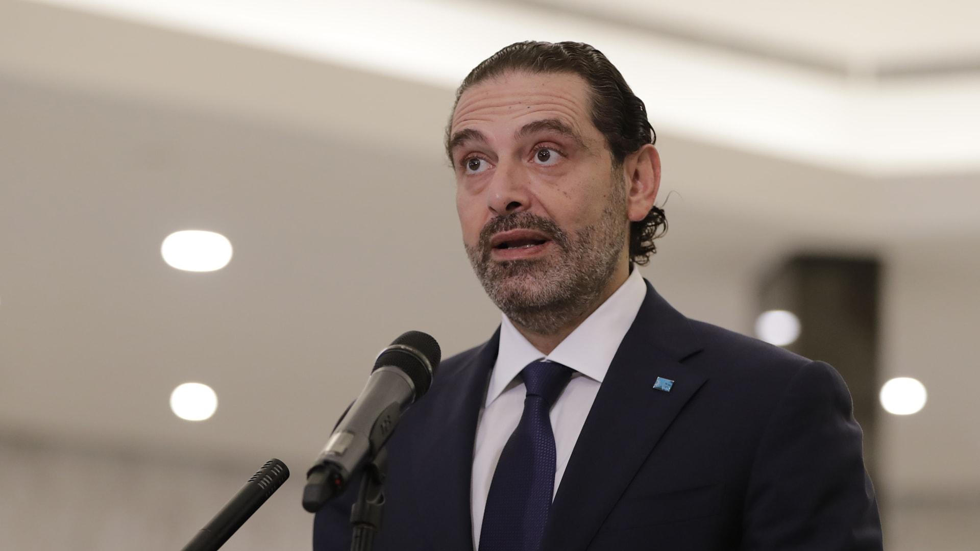 الحريري يقترح رفع الحصانة الدستورية عن رئيس الجمهورية في قضية مرفأ بيروت
