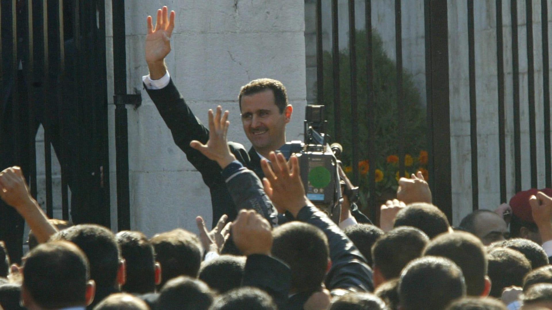 صورة أرشيفية لبشار الأسد