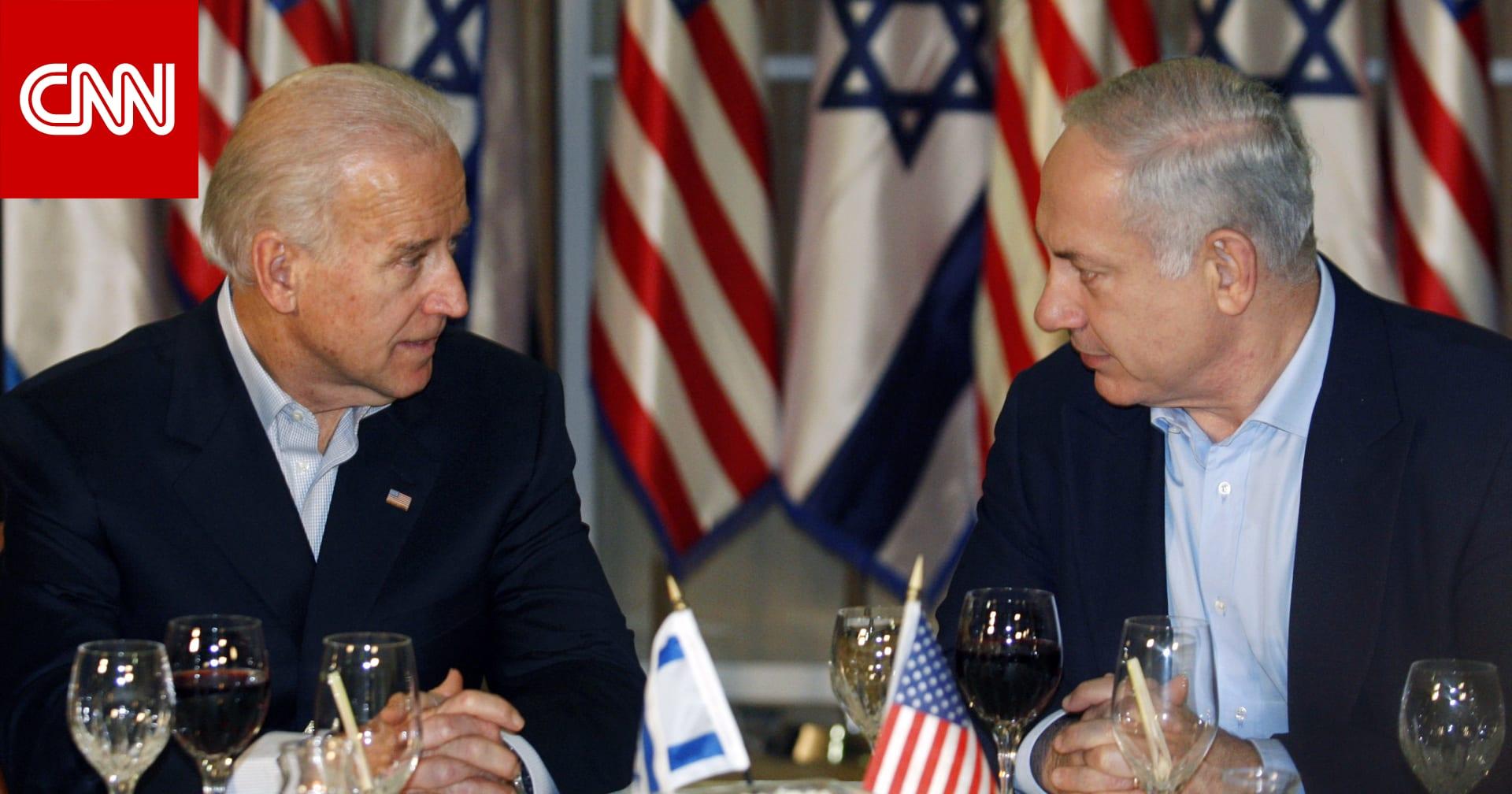 نتنياهو يوجه رسالة للرئيس الأمريكي جو بايدن حول السلام مع الدول العربية والتعامل مع إيران