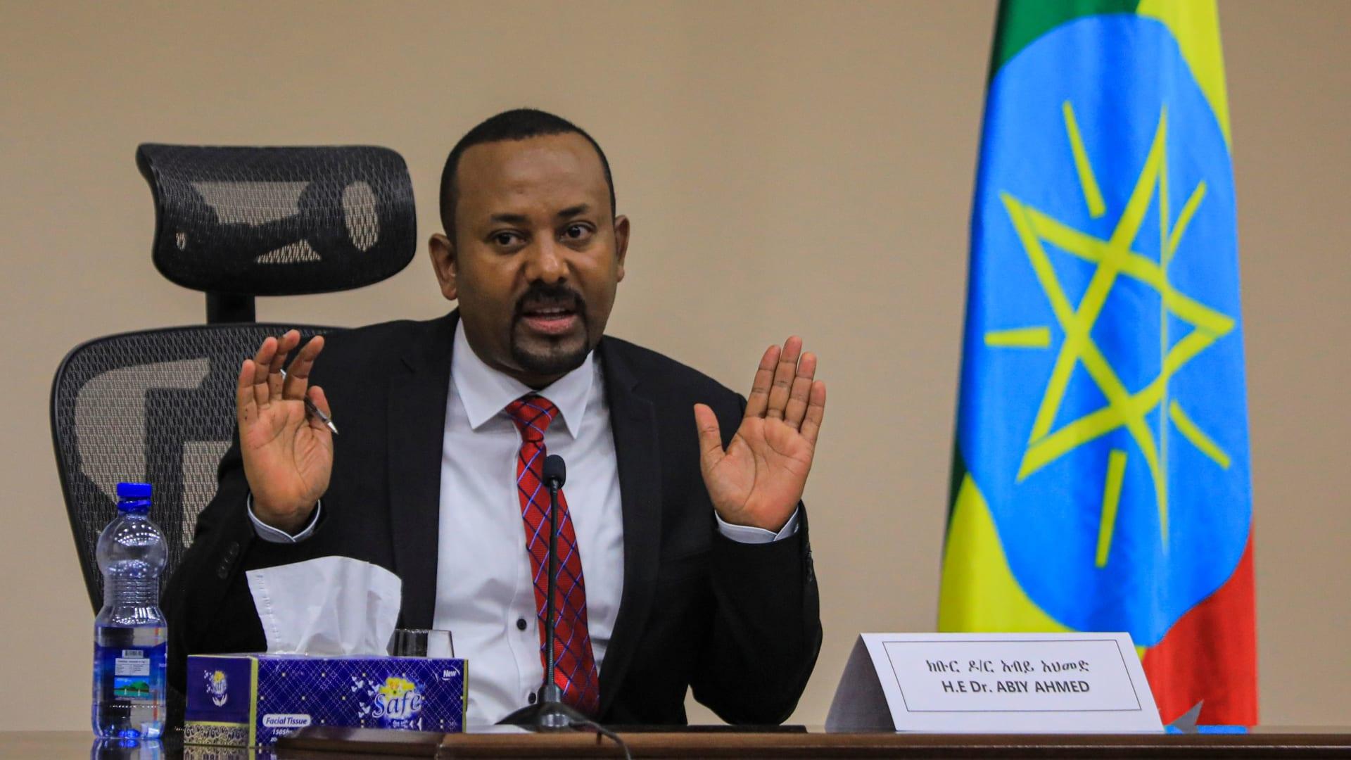 رئيس الوزراء الإثيوبي أبي أحمد علي