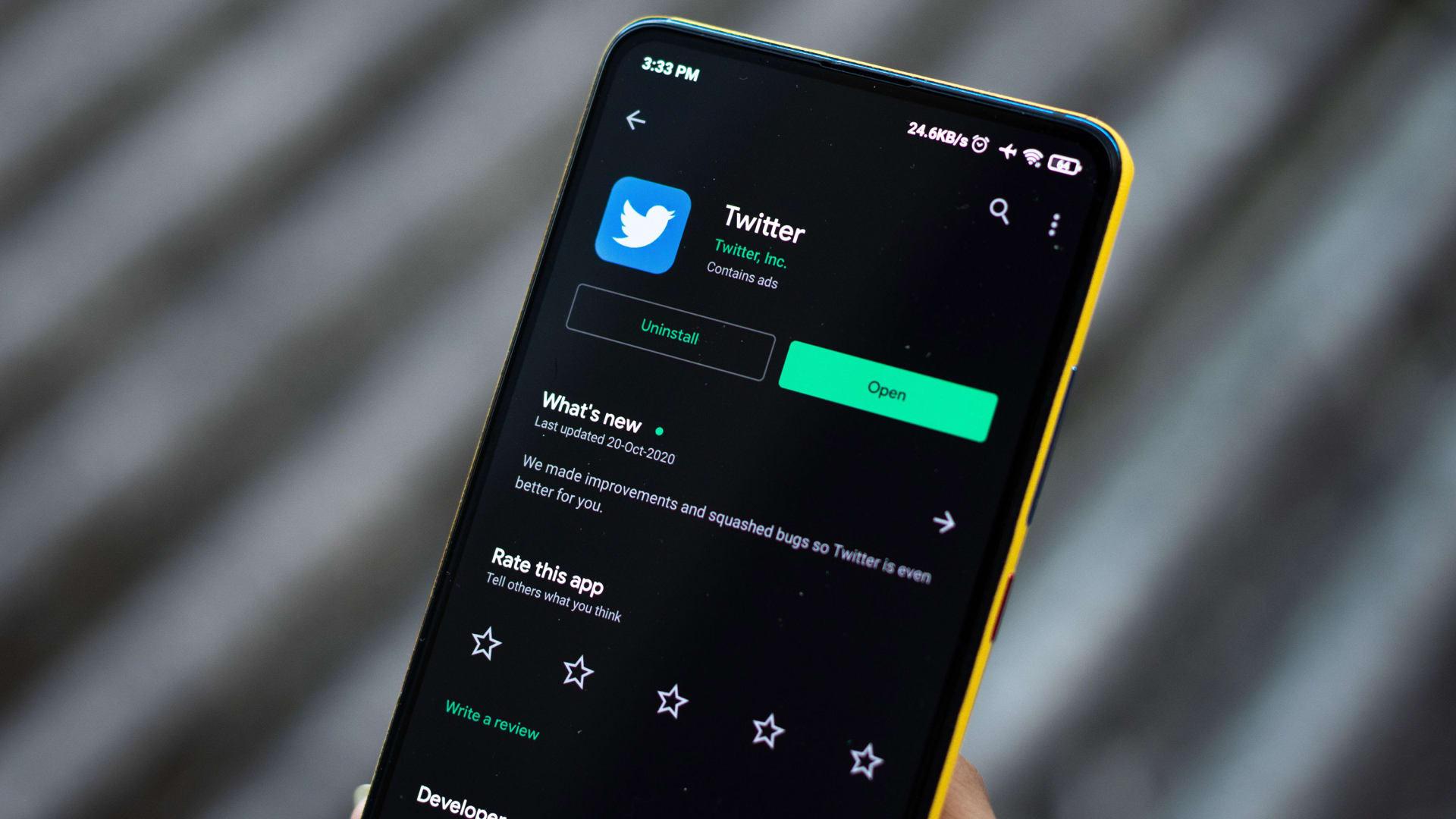 الحكومة الهندية: تويتر يجب أن يتحمل مسؤولية ما ينشره المستخدمون