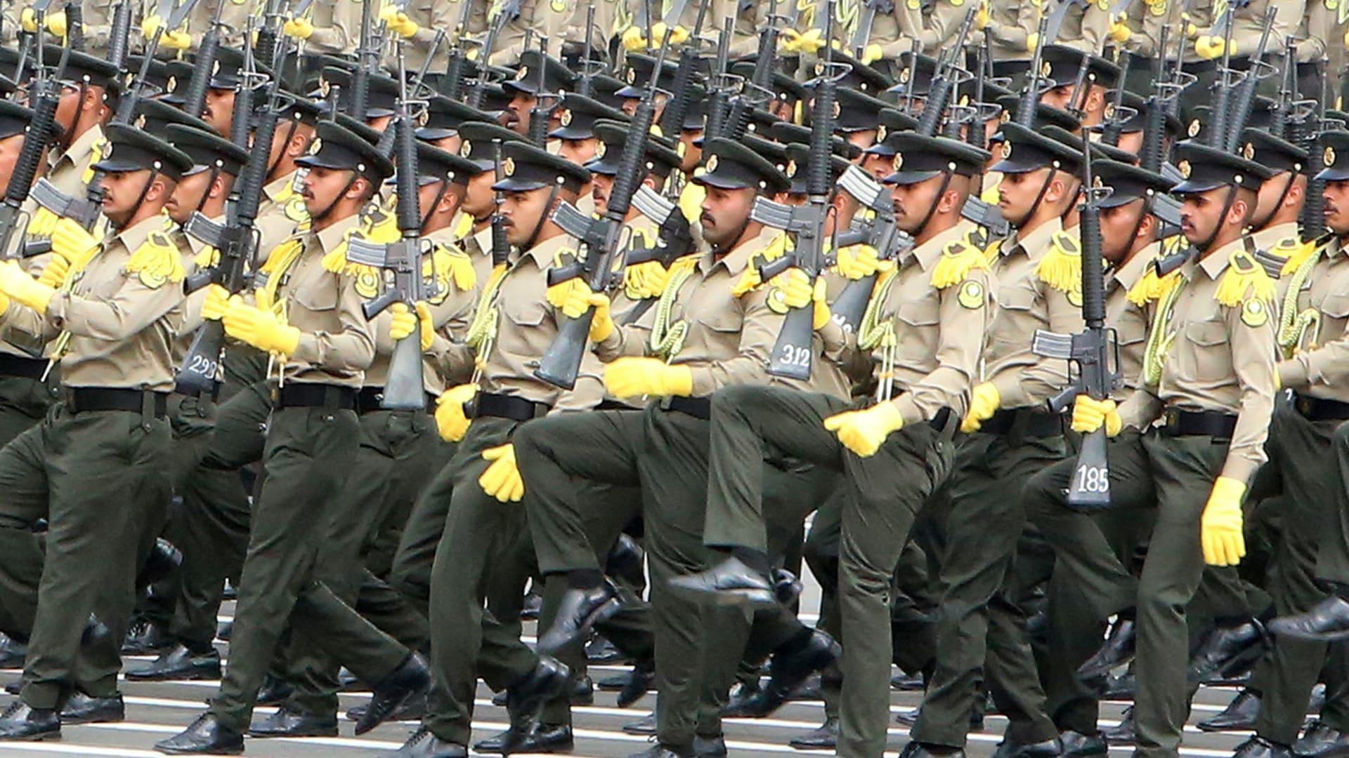 صورة أرشيفية خلال عرض عسكري كويتي العام 2020