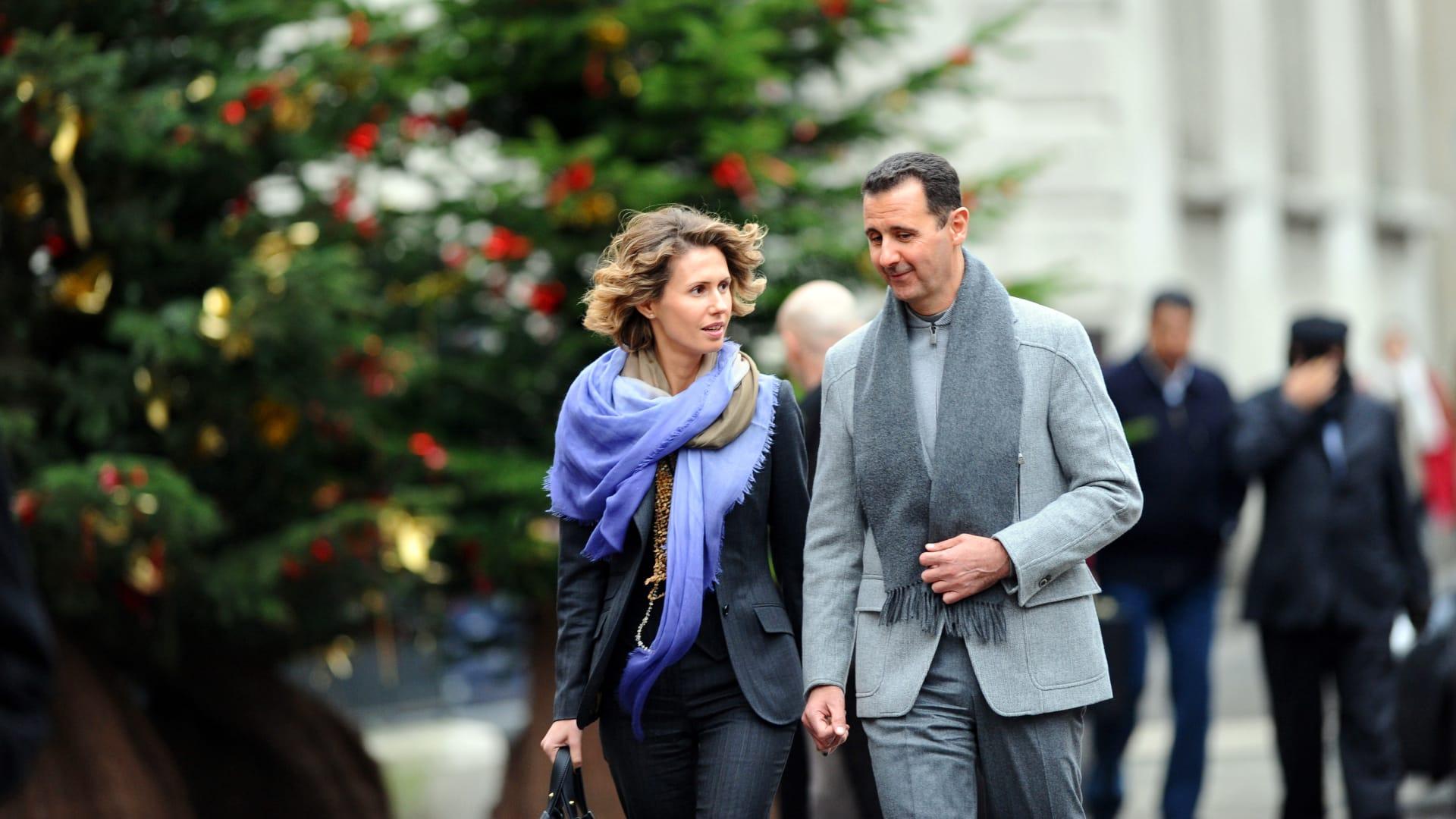 الرئاسة السورية تكشف تطورات الوضع الصحي لبشار الأسد وزوجته بعد إصابتهما بكورونا