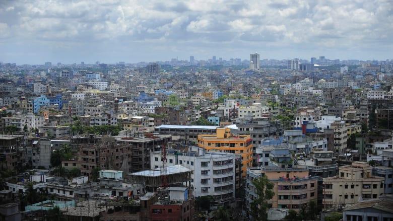 صورة ارشيفية عامة من العاصمة البنغلاديشية، دكا