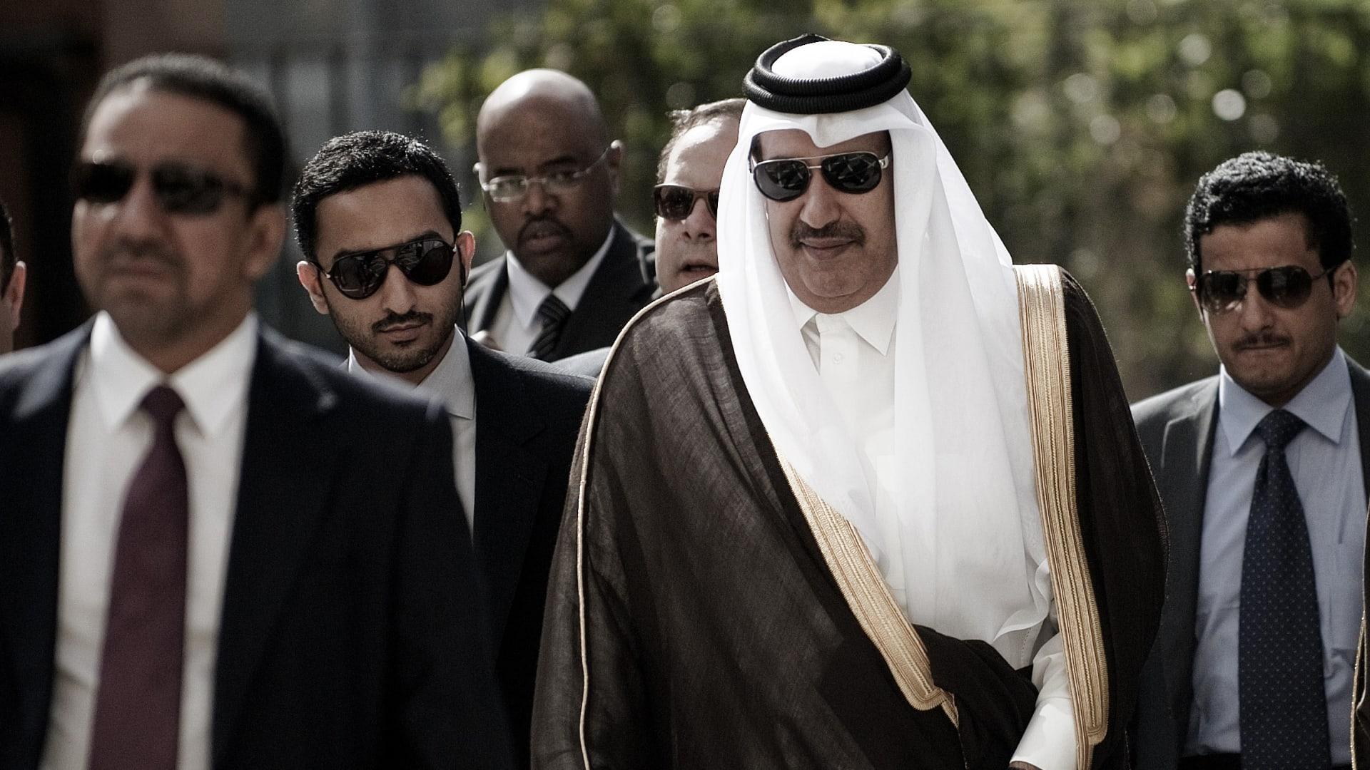 صورة أرشيفية لرئيس الوزراء القطري الأسبق حمد بن جاسم