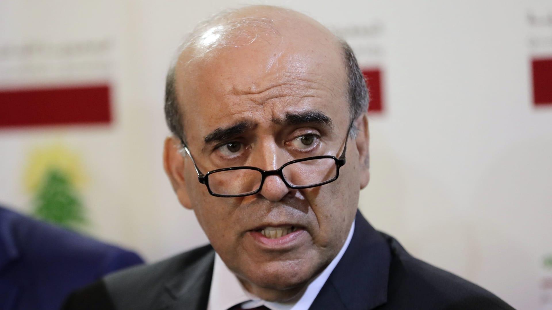 وزير الخارجية اللبناني شربل وهبه