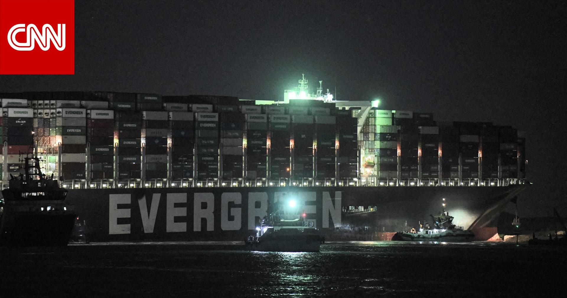 """محكمة مصرية توافق على رفع حجز ايفر جيفن.. والسفينة تعبر قناة السويس بعد """"تسوية مرضية"""""""