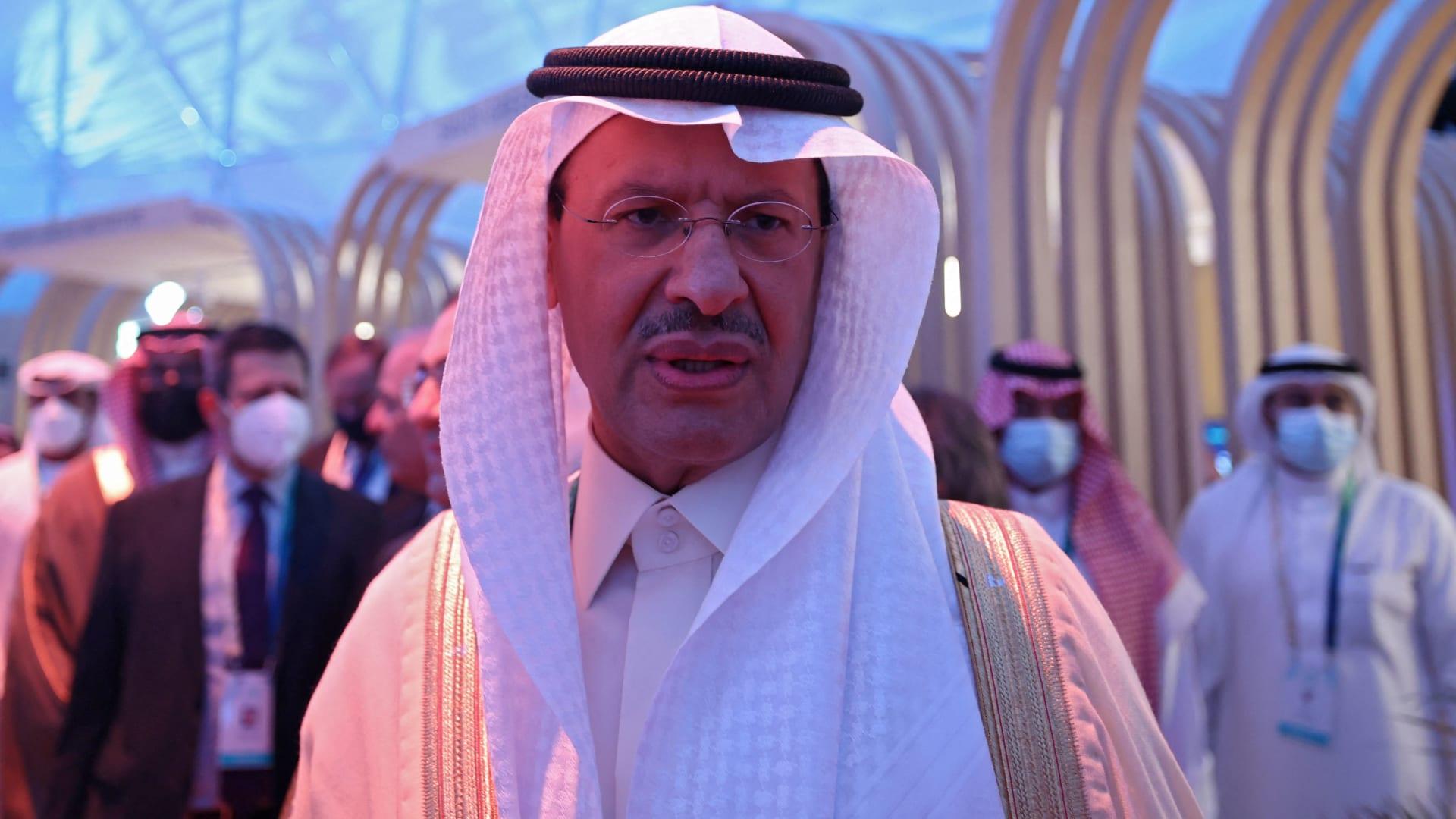 وزير الطاقة السعودي، الامير عبدالعزيز بن سلمان