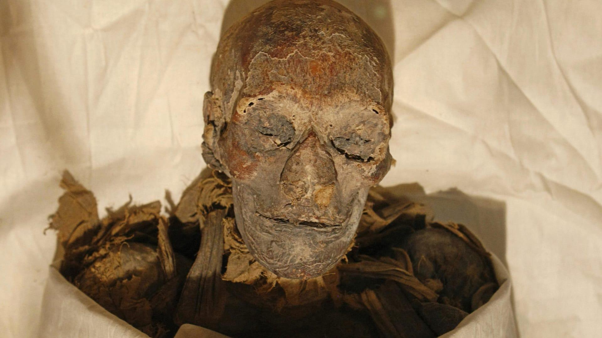 صورة أرشيفية للملكة الفرعونية حتشبسوت في مصر العام 2007