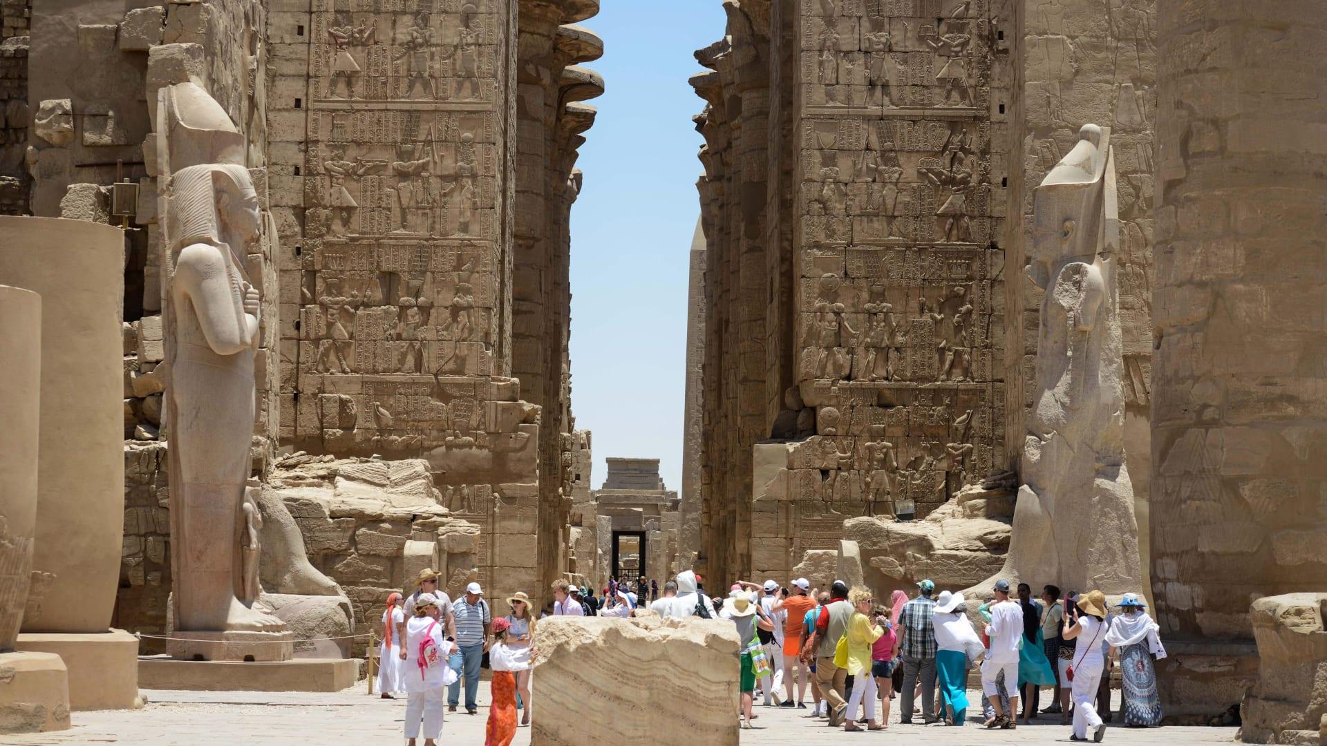 معبد الكرنك بالأقصر