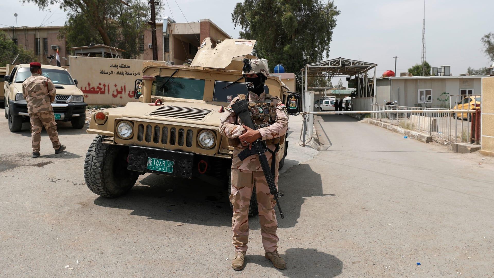 العراق: ارتفاع عدد قتلى حريق مستشفى ابن الخطيب إلى 82 شخصاً