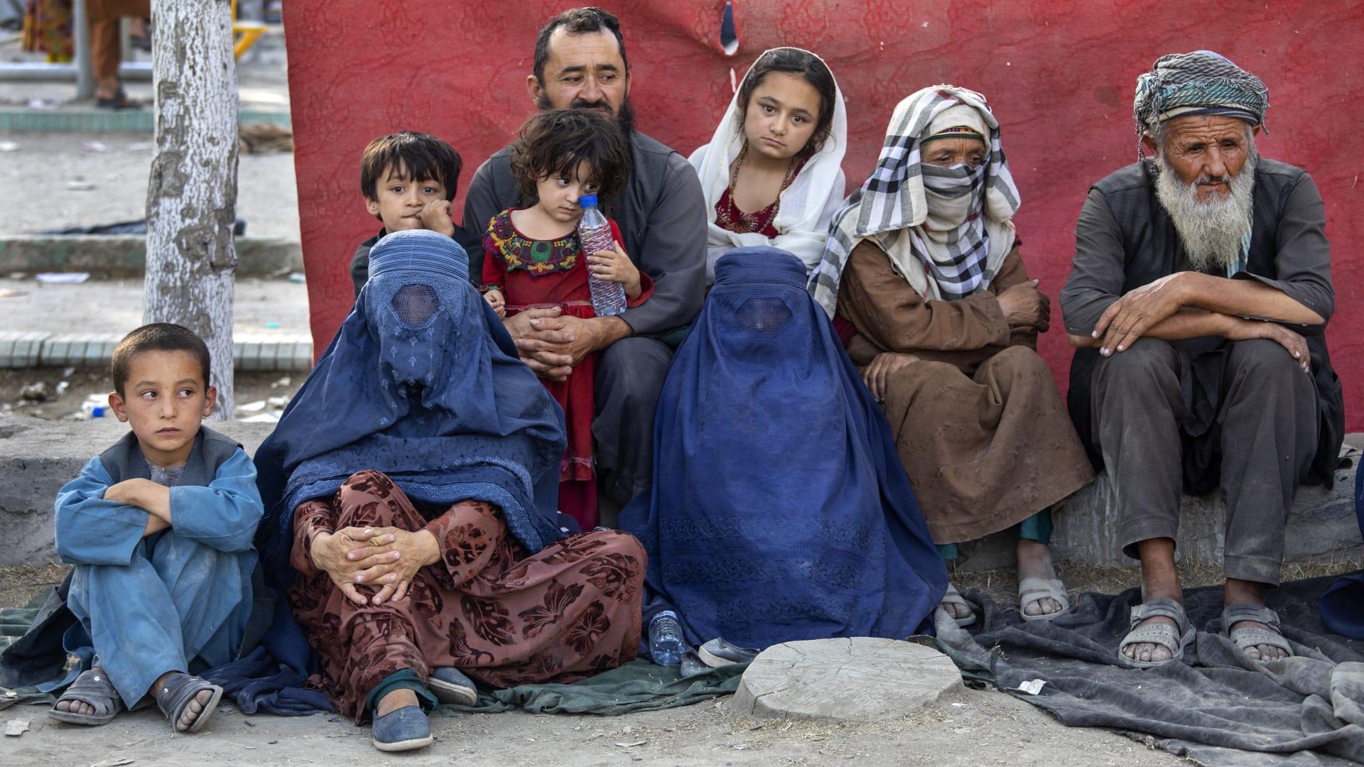 Displaced Afghans