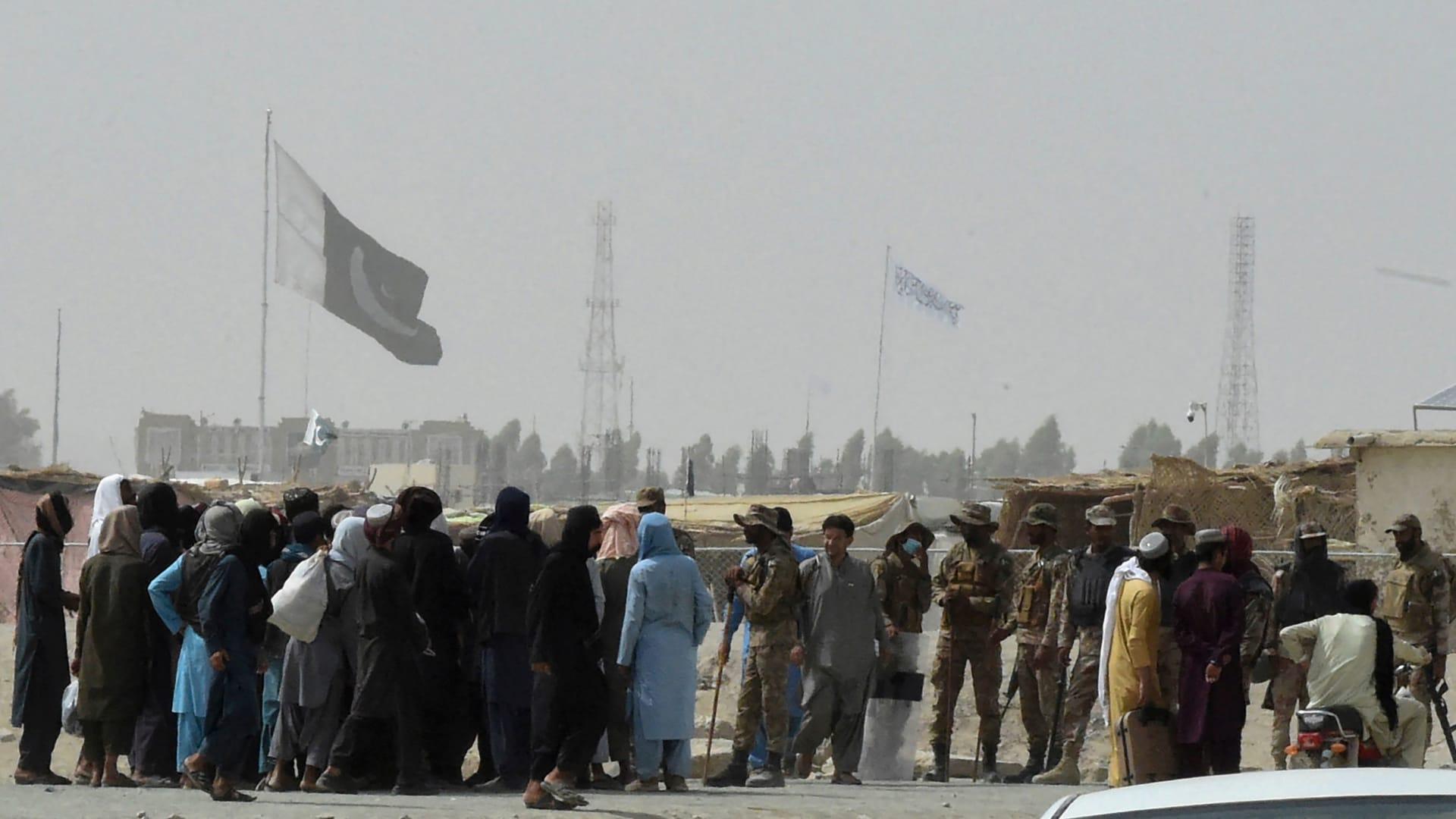 مقاتلي طالبان في أفغانستان سيطروا على معبر حدودي رئيسي مع باكستان