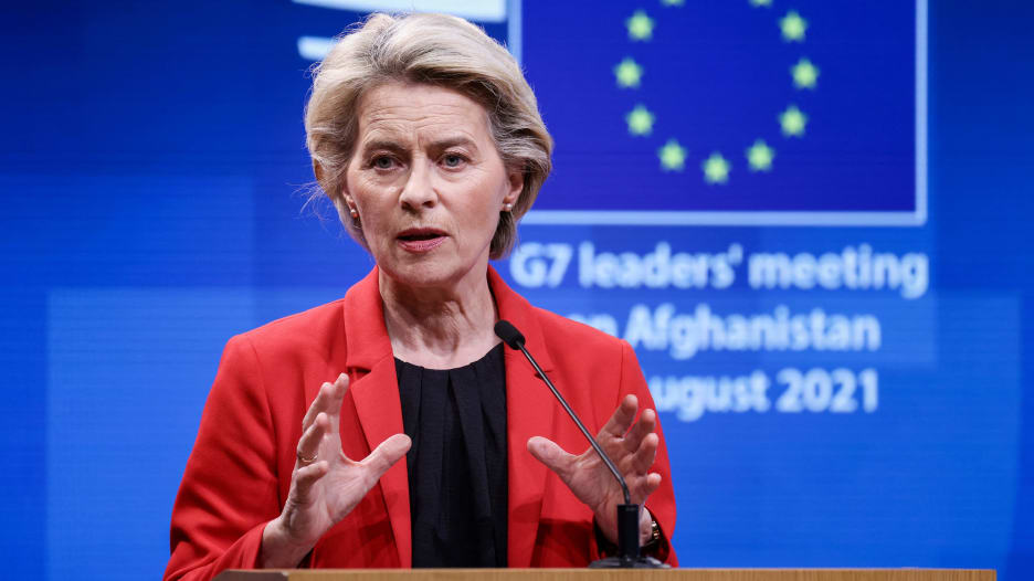 رئيسة المفوضية الأوروبية: النساء المتعلمات أكثر عرضة للخطر في أفغانستان