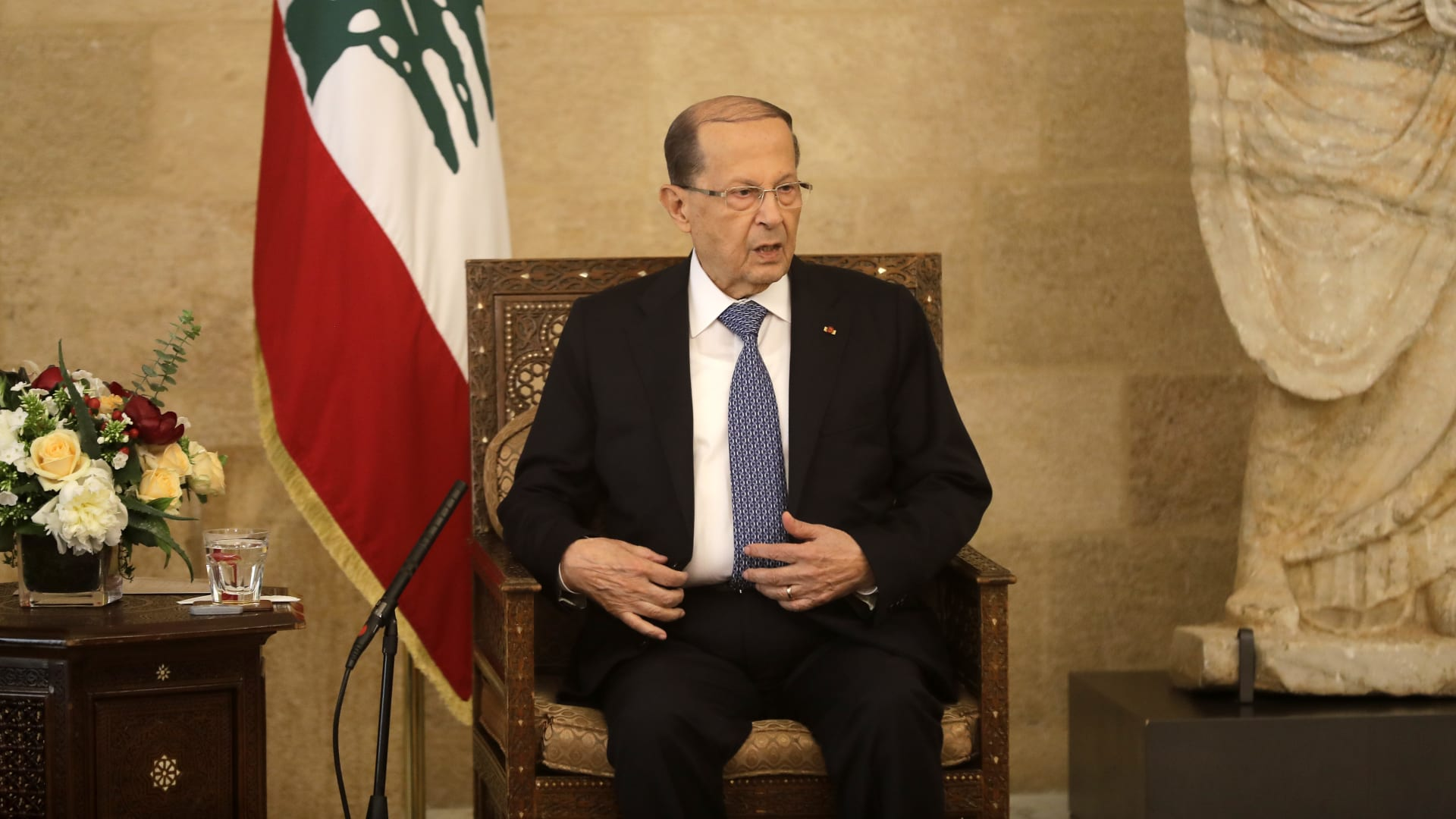 """صندوق النقد الدولي لـCNN: """"نقطة الانطلاق"""" في لبنان يجب أن تأتي من الداخل"""