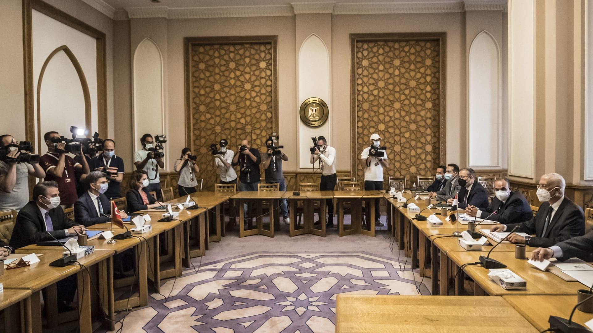"""بدء """"المحادثات الاستكشافية"""" بين مصر وتركيا لبحث """"تطبيع العلاقات"""""""