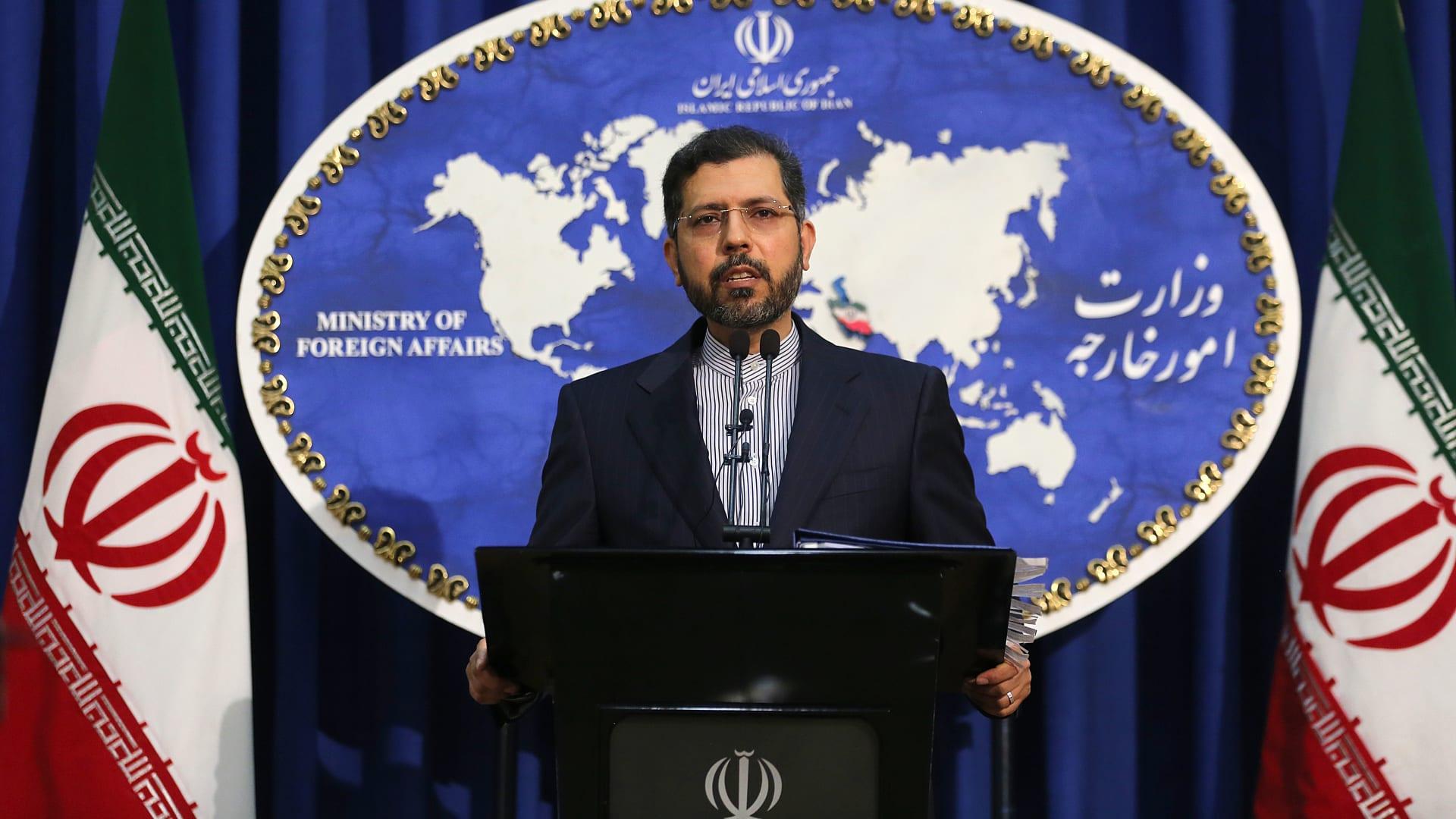 المتحدث باسم وزارة الخارجية الإيرانية