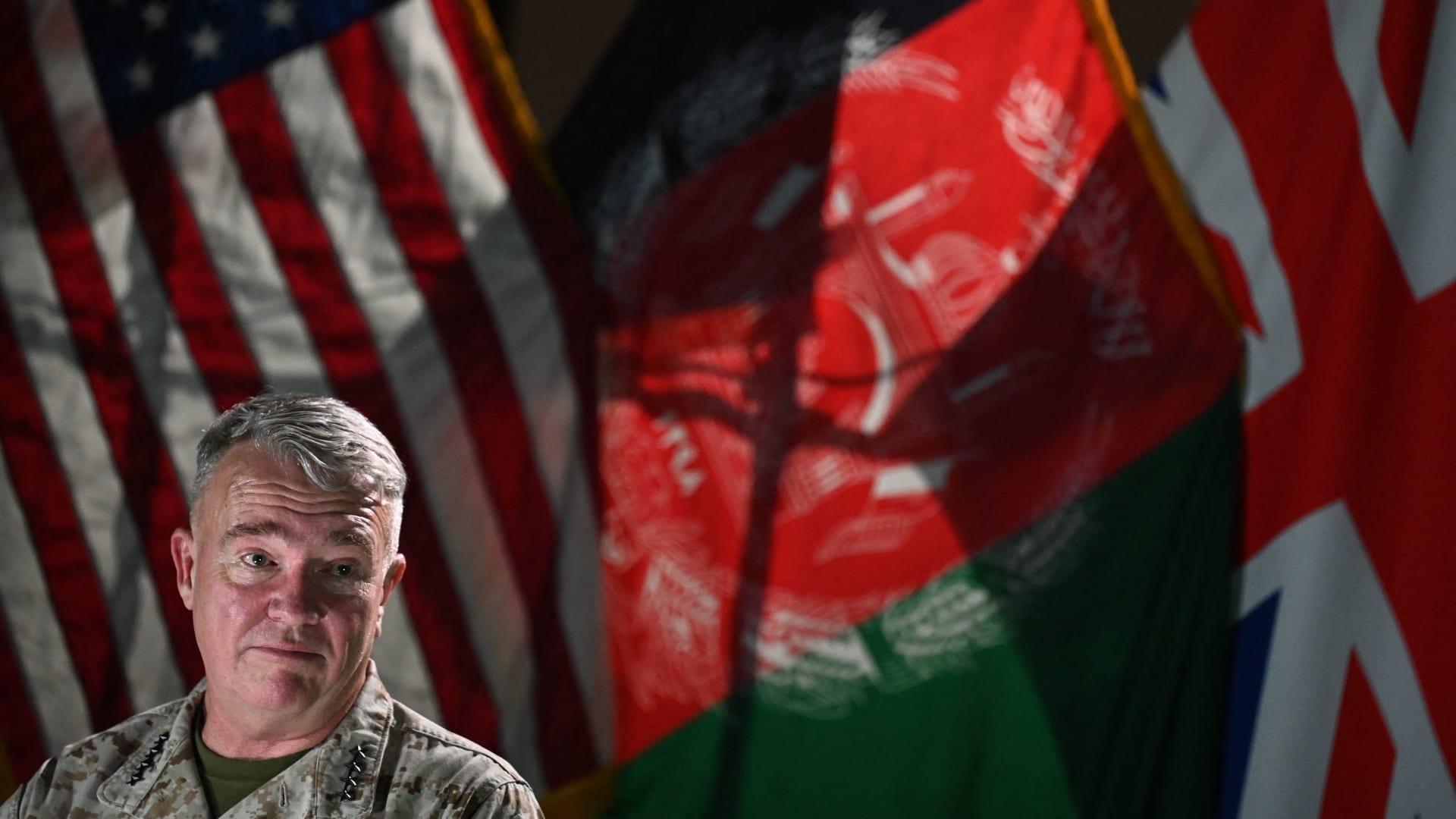 قائد القيادة المركزية الأمريكية الجنرال، فرانك ماكنزي