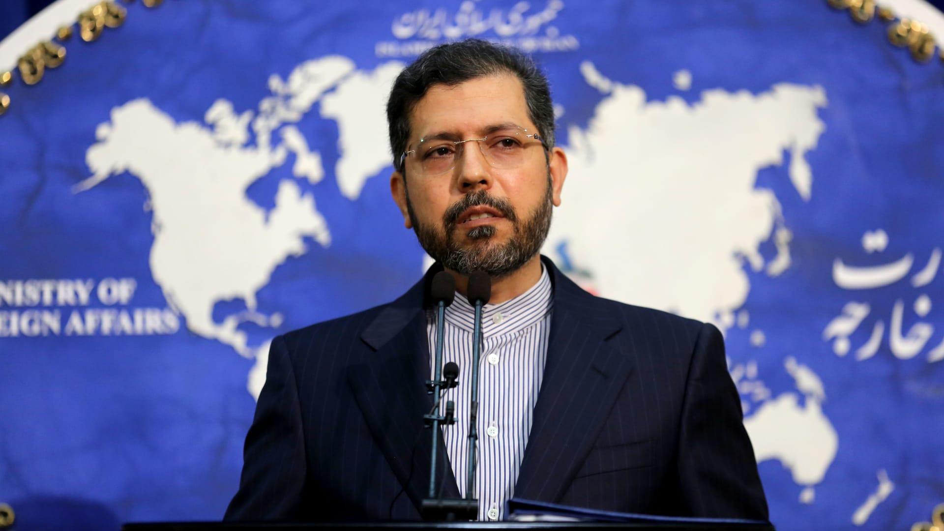 المتحدث باسم الخارجية الإيرانية، سعيد خطيب زادة