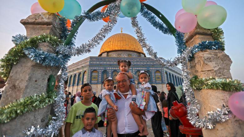 شاهد.. صور احتفالات المسلمين من حول العالم بعيد الأضحى