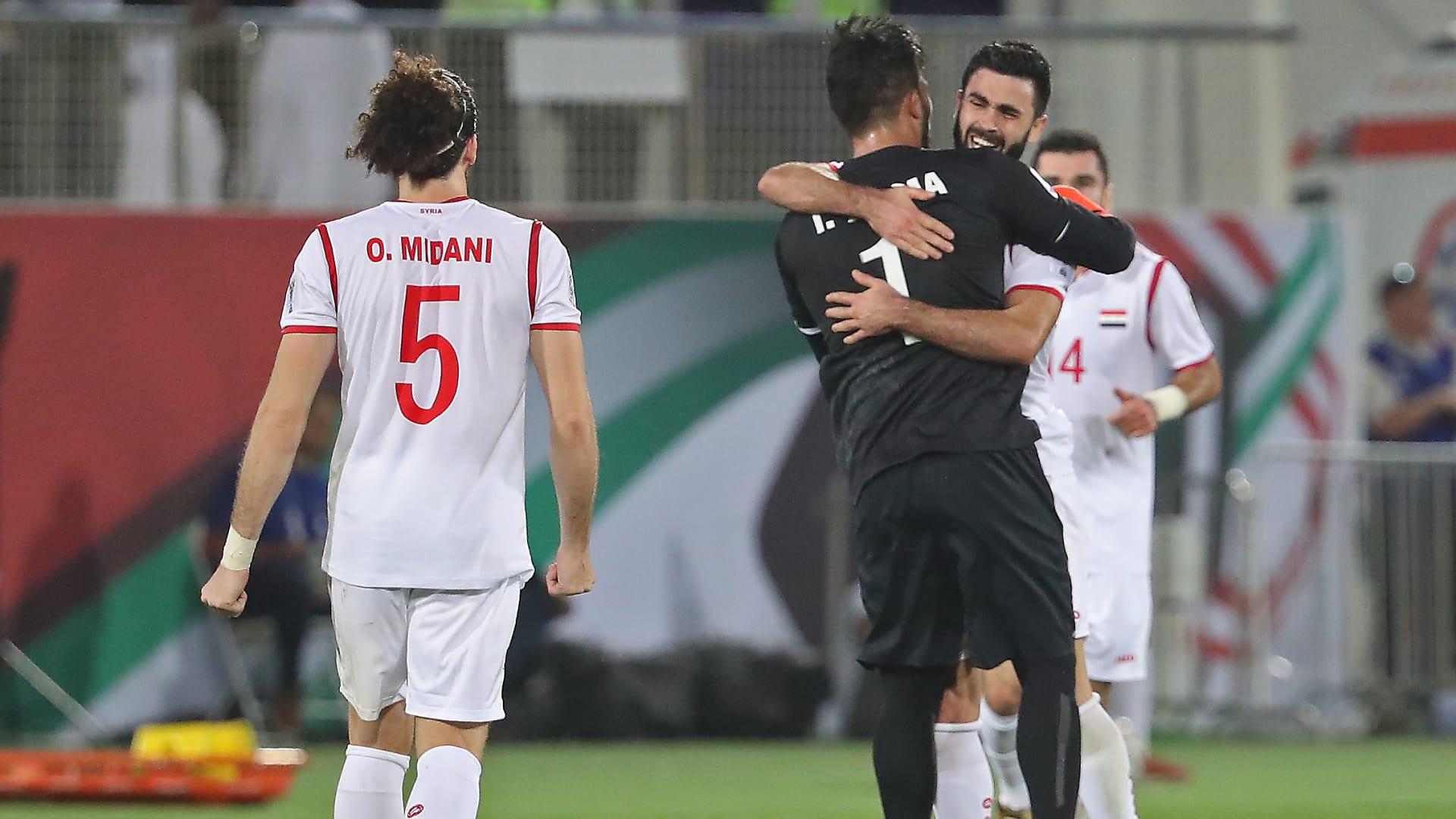 سوريا أول العرب المتأهلين لكأس آسيا والمرحلة النهائية لتصفيات مونديال 2022