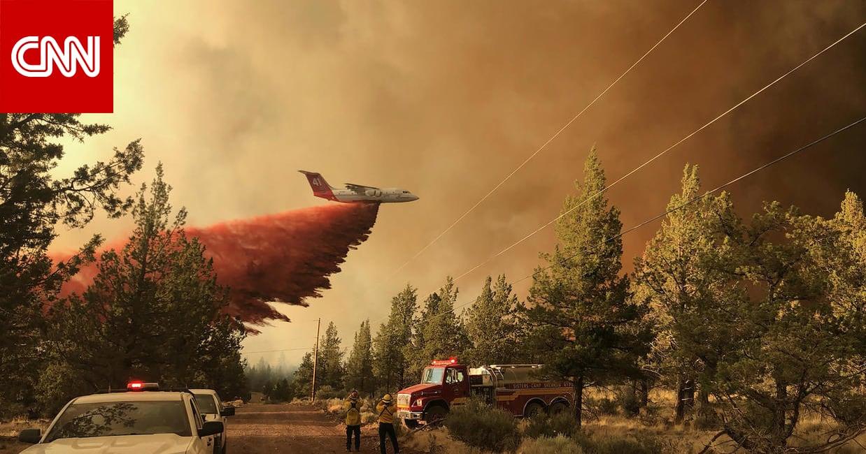 أكبر حريق في أمريكا هذا العام يحرق ما يعادل ملعب كرة قدم كل 5 ثوان