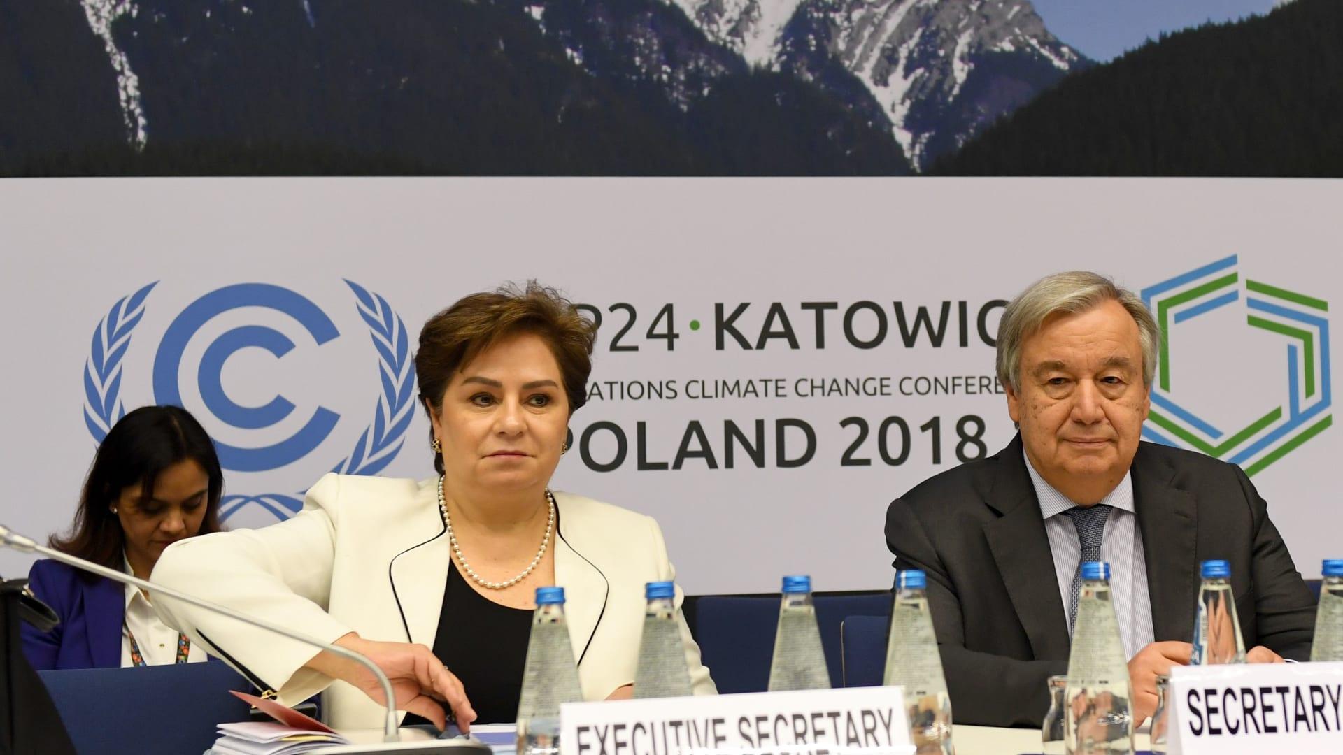 """مسؤولة المناخ في الأمم المتحدة لـCNN: العالم ما يزال """"بعيدًا جدًا"""" عن تجنب سيناريو الكارثة"""