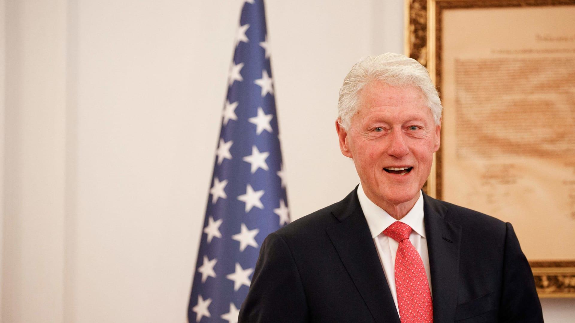 الرئيس الأمريكي السابق، بيل كلينتون